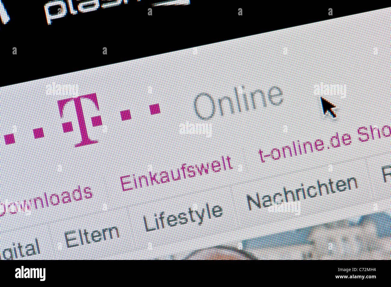 T-online.e T Deutsche Telekom Stock Photos T Deutsche Telekom Stock Images