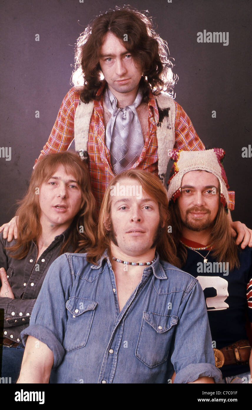 Vintage Bad Company Bad Company In 1975 From Left Mick Ralphs Paul Rodgers Top