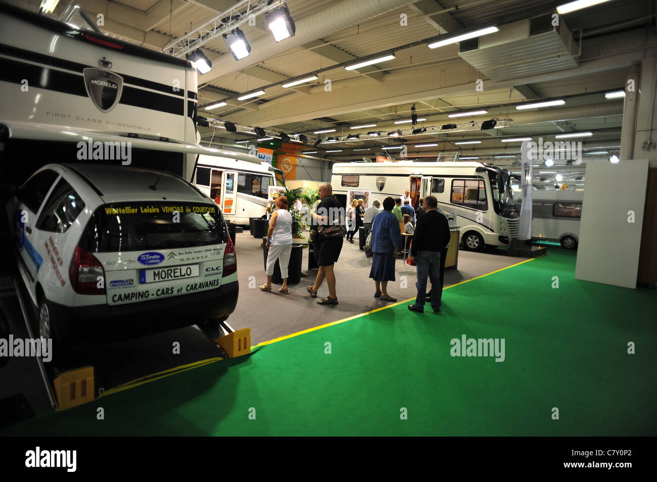 Salon Camping Car Lyon Vehicules Stock Photos Vehicules Stock Images Alamy