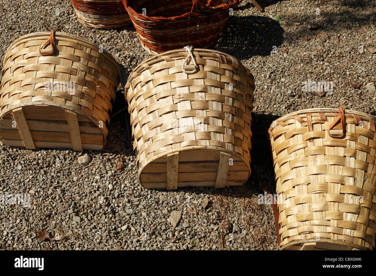 Cane Baskets Cane Baskets Stock Photos And Cane Baskets Stock Images Alamy