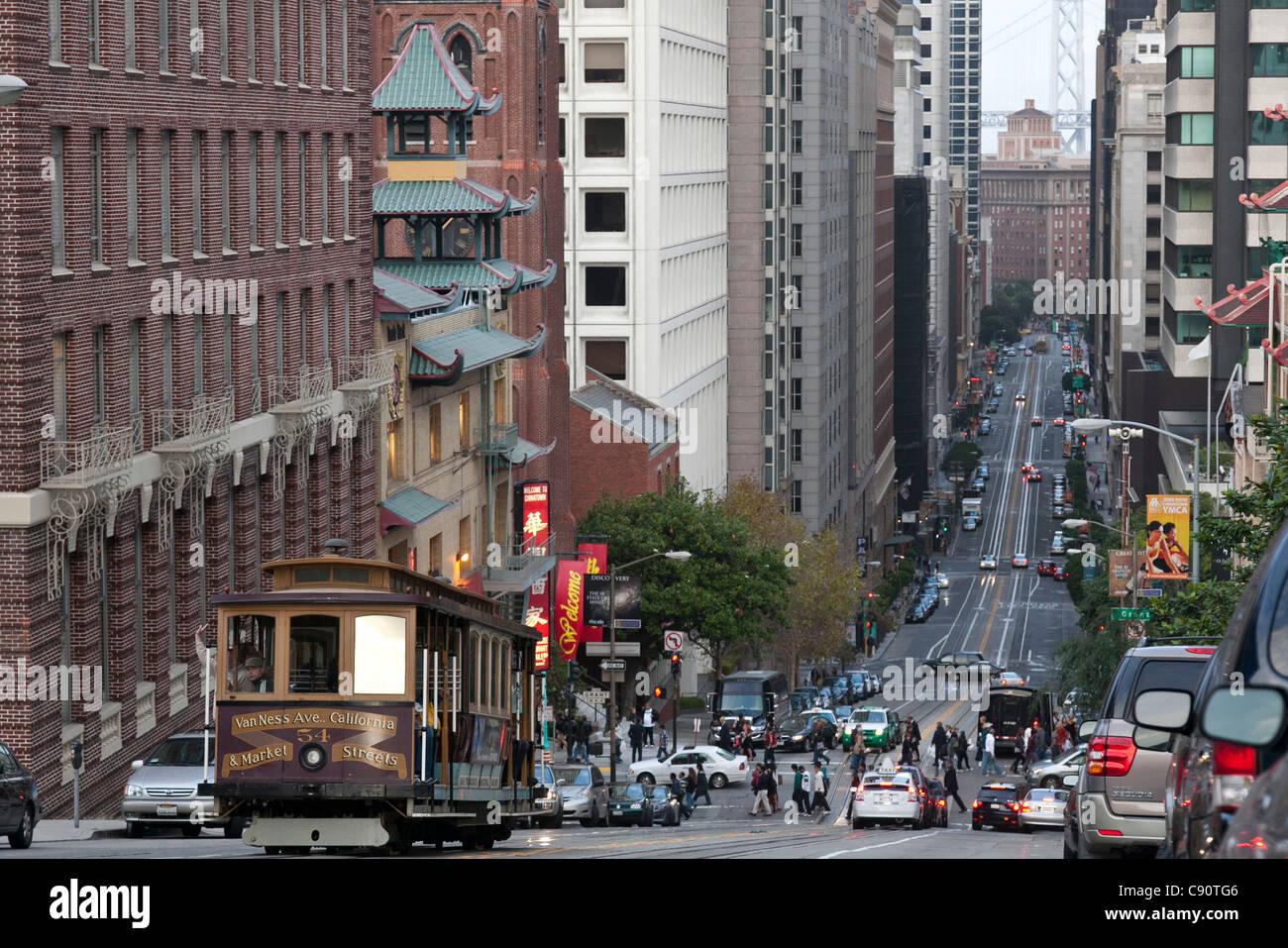 Car Dashboard Wallpaper Traditional Tram Climbing Up A Mountain Hills In Downtown