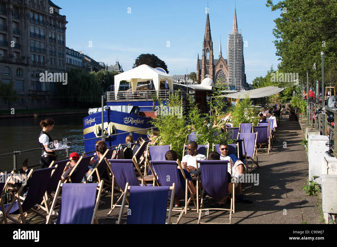 Arte Cafe Strasbourg Outside Strasbourg Stock Photos Outside Strasbourg Stock Images
