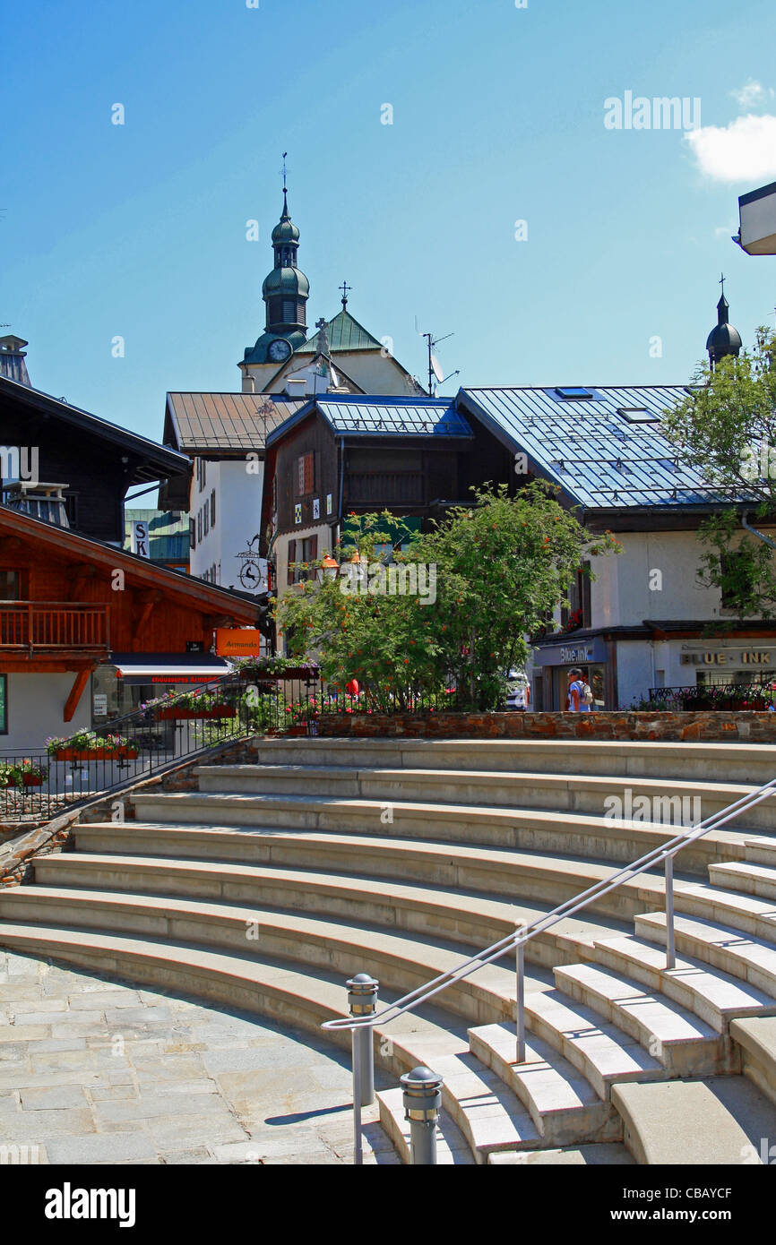 Office Tourisme Megeve Town Of Megeve Haute Savoie France French Alps Small