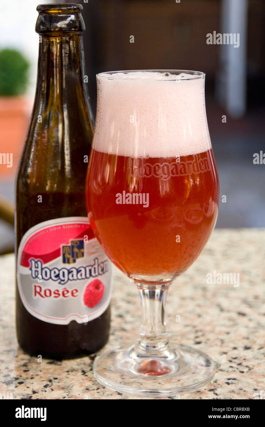 Bicchieri Hoegaarden Tulip Shaped Glass Stock Photos Tulip Shaped Glass Stock Images