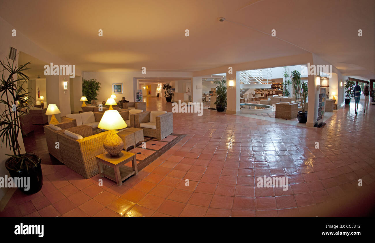 Tivoli Lagos Algarve Tivoli Hotel Lagos Portugal Reception Area Stock Photo 41909394