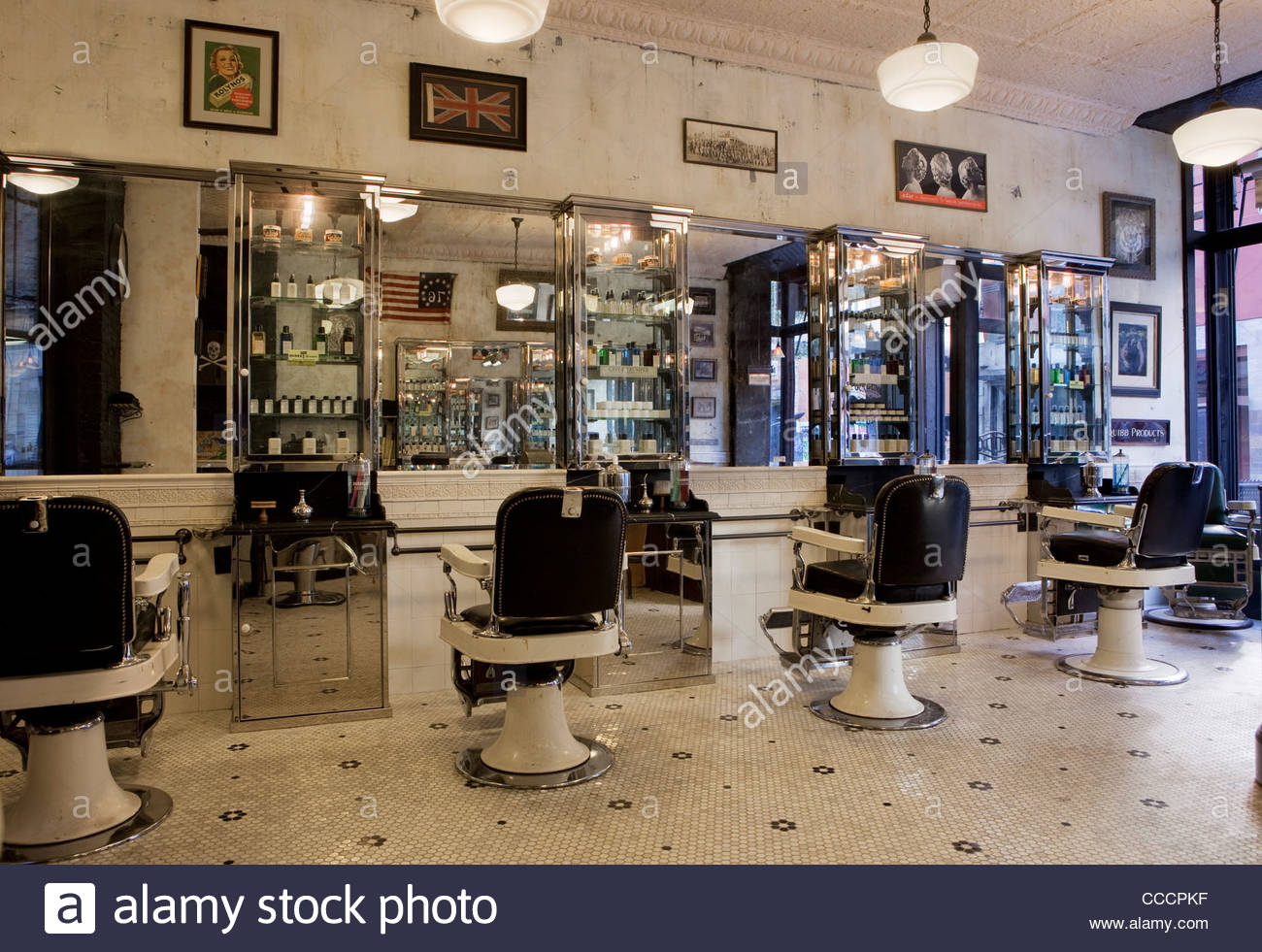 Original Salon Tommy Guns Lower East Side Has Replicated The Vintage Design Of