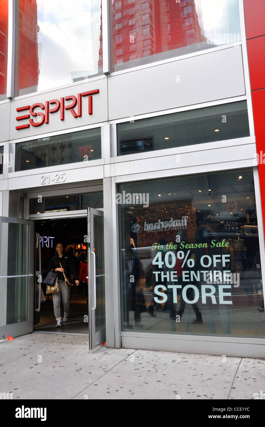 Esprit New Esprit Store New York Usa Stock Photo 42105488 Alamy