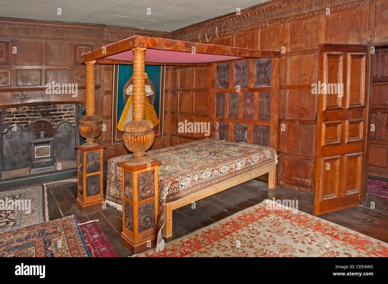 4 Poster Princess Bed Four Poster Bed In Castle Lodge Ludlow Shropshire A