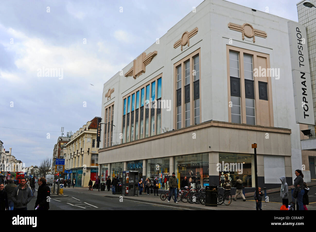 Primark Deco Primark Department Store In Art Deco Style Building