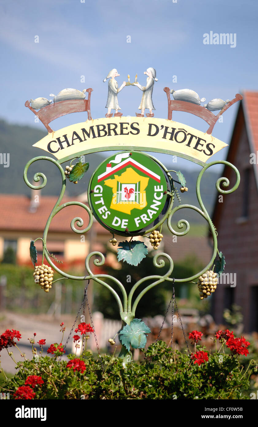 Chambres Sign High Resolution Stock Photography And Images Alamy