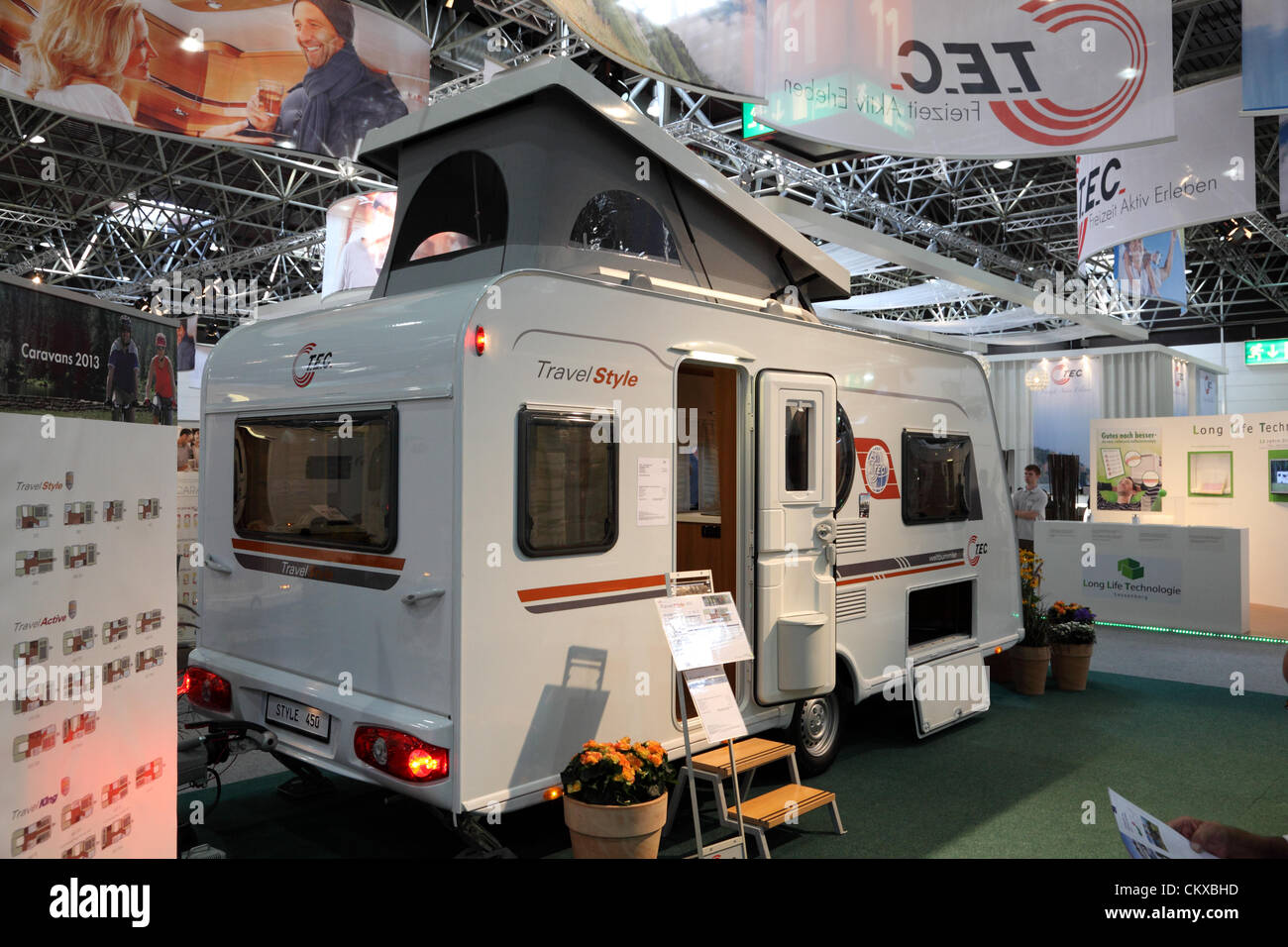 Fashion For Home Düsseldorf Duesseldorf - August 27: T.e.c. Travel Style Mobile Home ...
