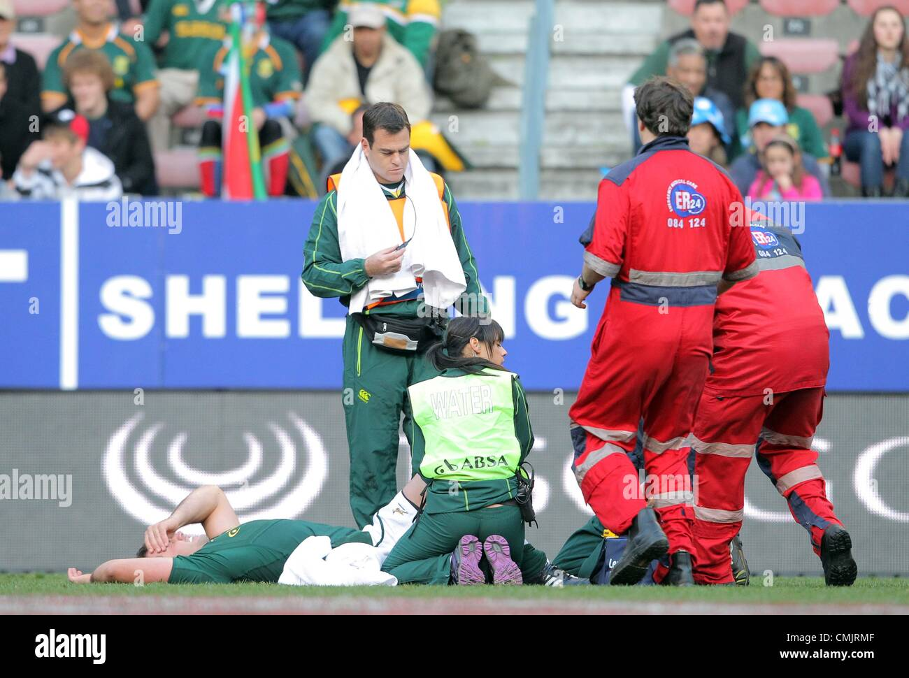 Springbock Hocker South Africa Springboks Fourie Du Stock Photos South Africa