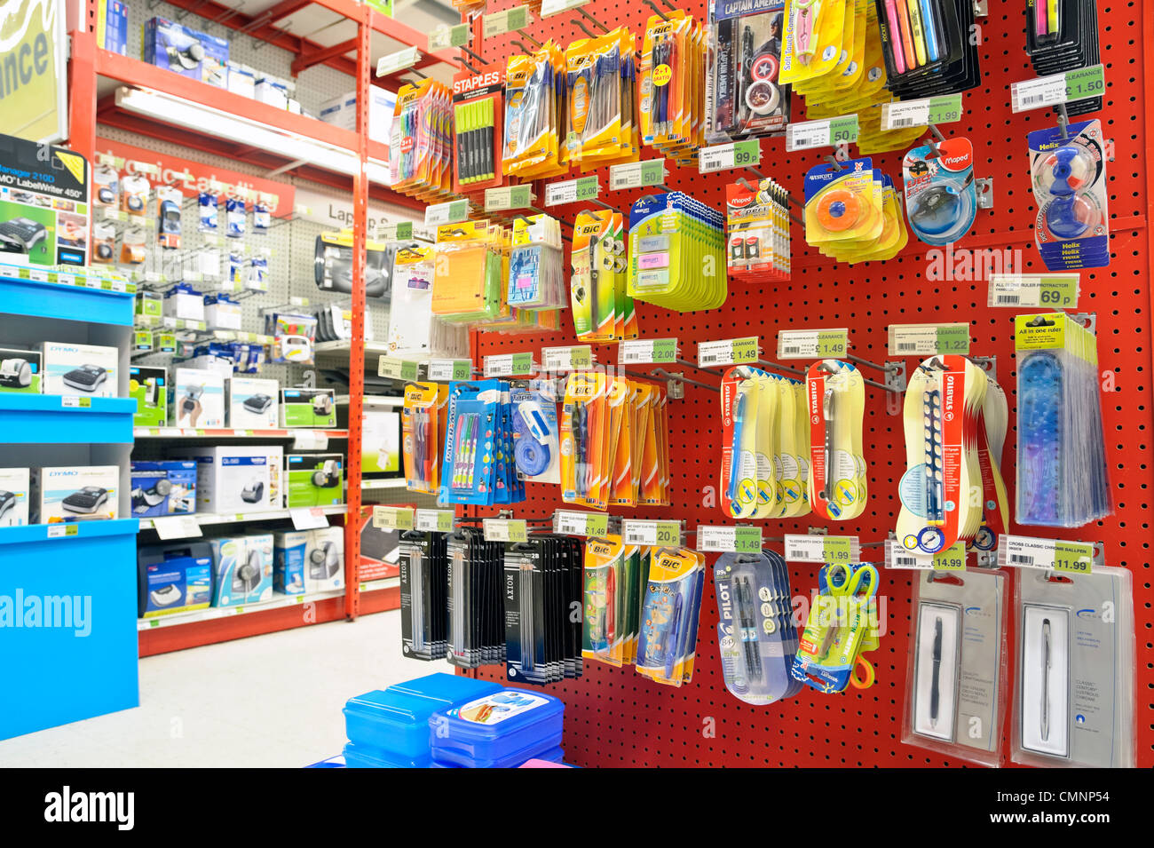 Office Stores Office Supplies Store Stock Photos Office Supplies Store Stock