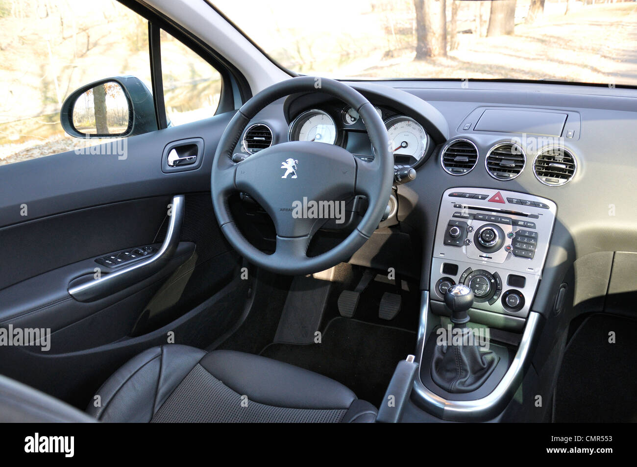 Peugeot 308 Sw Interieur Interior Dashboard Cockpit Peugeot Stock Photos Interior