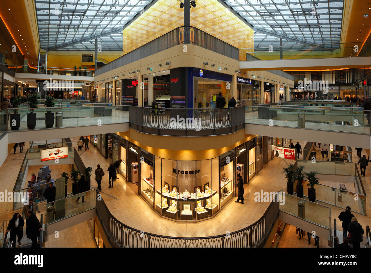 Dortmund Shopping Center D Dortmund Ruhr Area Westphalia North Rhine Westphalia
