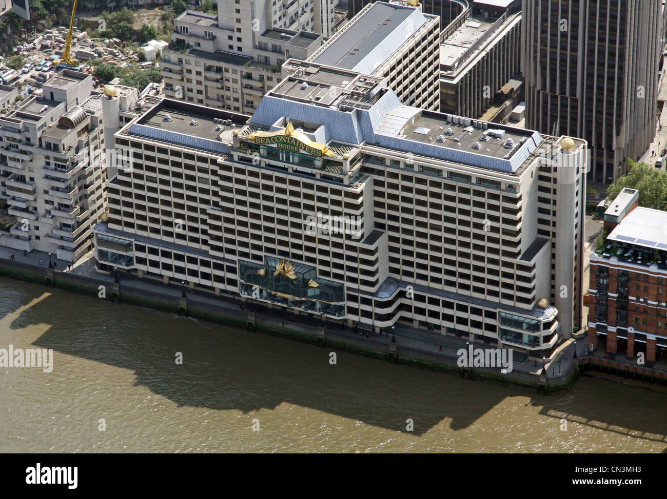 Container Haus London Aerial View Of Sea Containers House River Court Upper