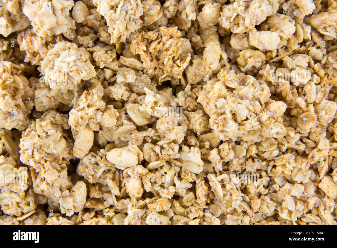 Müsli Crunchy Closeup Picture Of Crunchy Musli Mixed Together Stock Photo