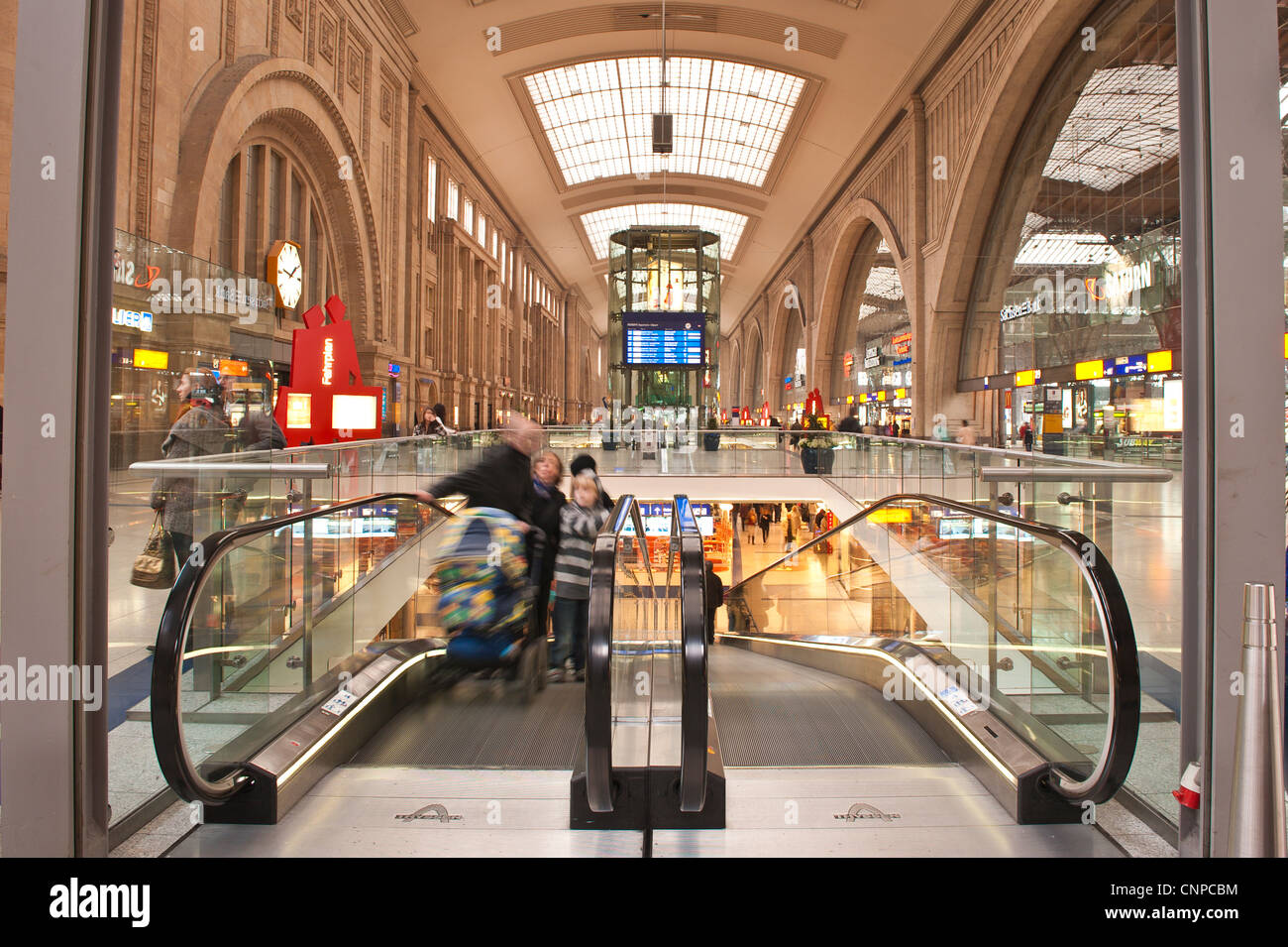 Leipzig Straßenbahn Fahrplan Railway Station Leipzig Germany Stock Photo 47821192 Alamy