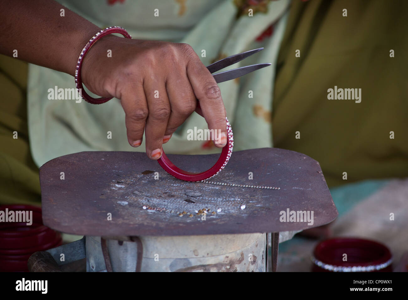 Rajasthani Lac Jewellery Handicraft Rajasthan Stock Photos And Handicraft Rajasthan