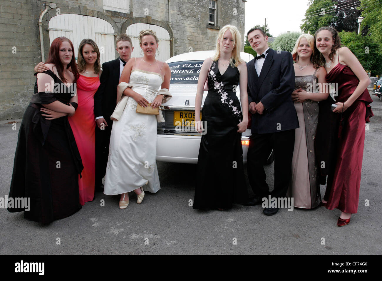 Limo Prom Limo Prom Stock Photos Limo Prom Stock Images Alamy