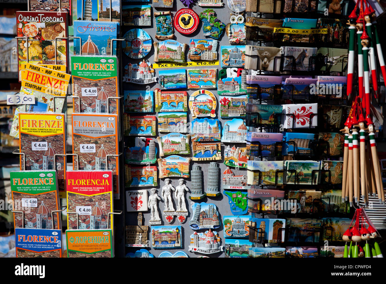 Cucina Toscana Via Faenza Souvenir Shop In Florence Stock Photos Souvenir Shop In Florence