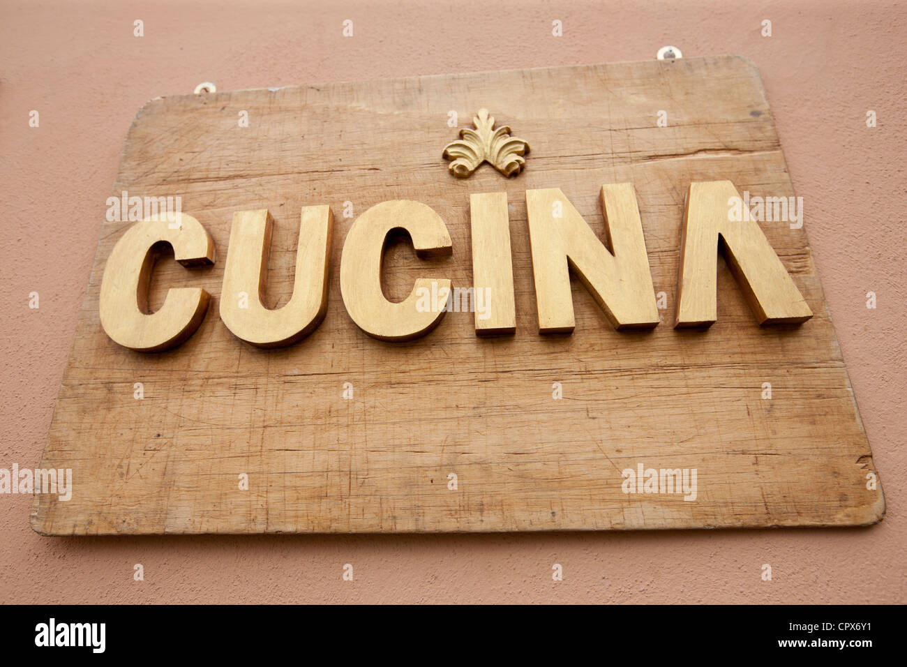 Cucina Kitchen Sign Cucina Stock Photos Cucina Stock Images Alamy