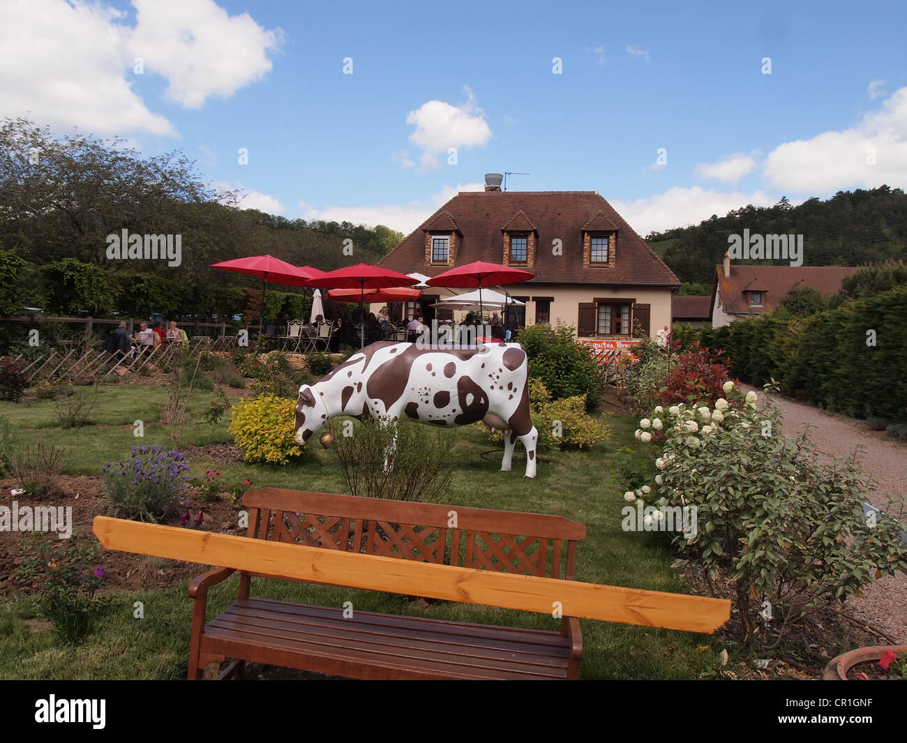 Asia Bistro Siegen Farmhouse Gardens Stock Photos Farmhouse Gardens Stock Images