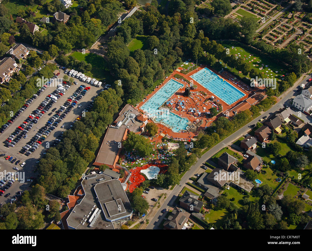 Zwembad Oberhausen Swimming Pool Birds Eye View Stock Photos And Swimming Pool