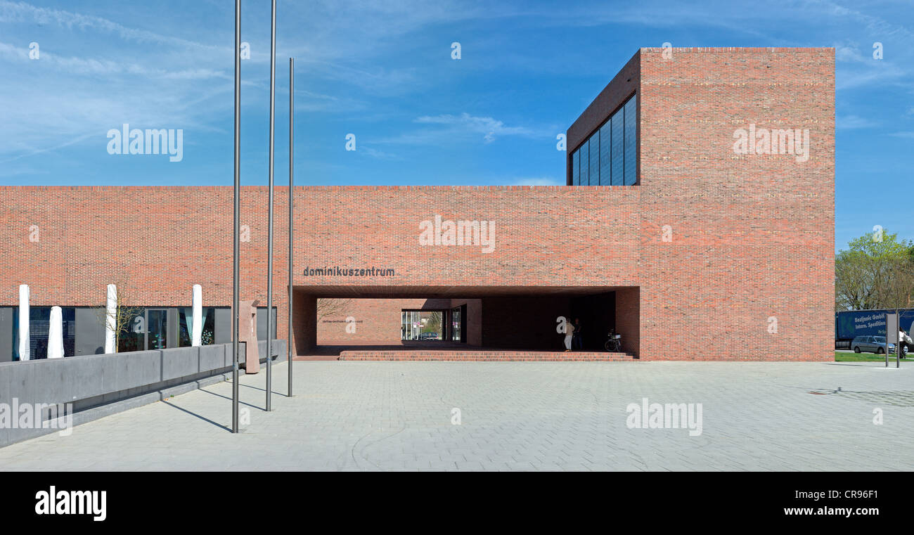Meck Architekten Dominikuszentrum Church Center Modern Religious Architecture