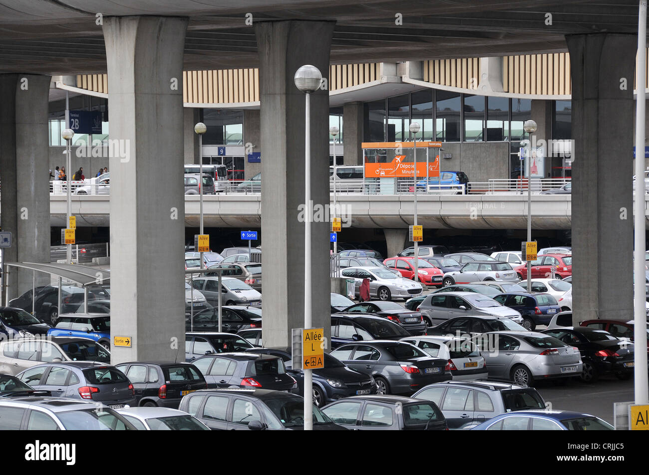 Parking Roissy Cdg Cars Parking Roissy Charles De Gaulle Airport Terminal 2 Paris