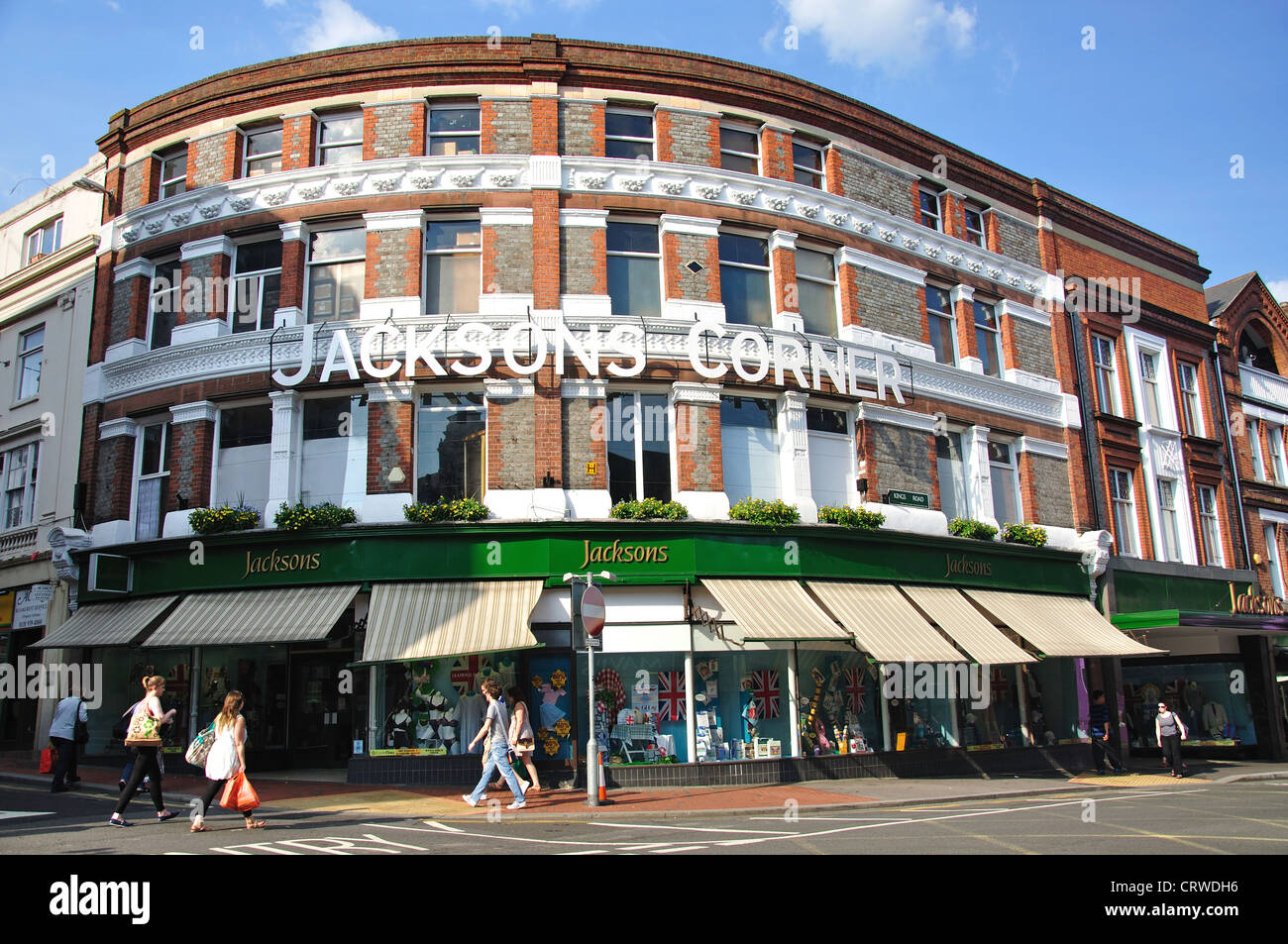 King Jackson E Jackson Sons Ltd Department Store Jackson S Corner King