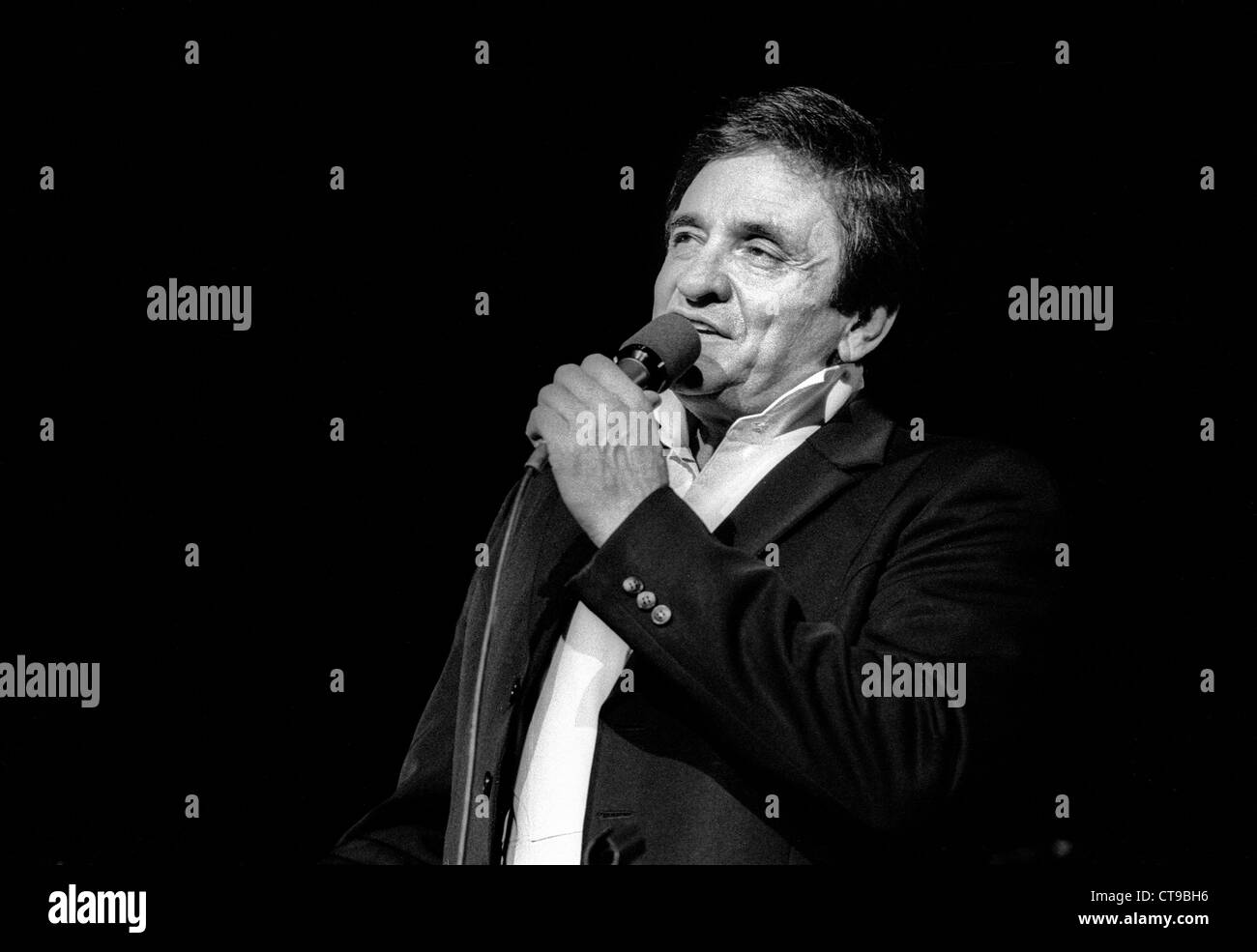 Johnny Cash Pool Song Johnny Cash Black And White Stock Photos Images Alamy