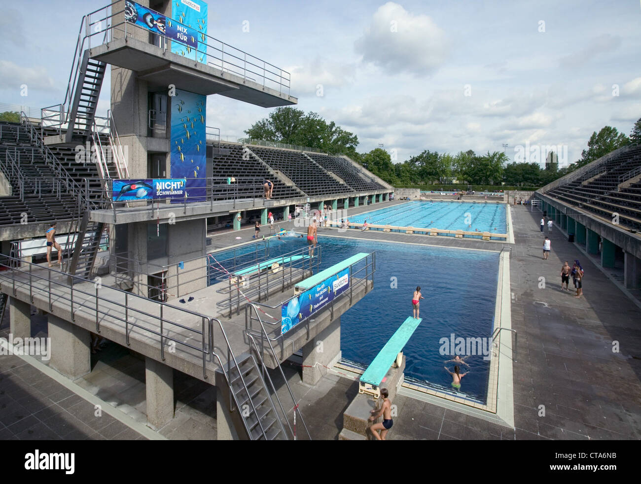 Pools In Berlin I'll Just Double Flip Into The Water When I'm Not A
