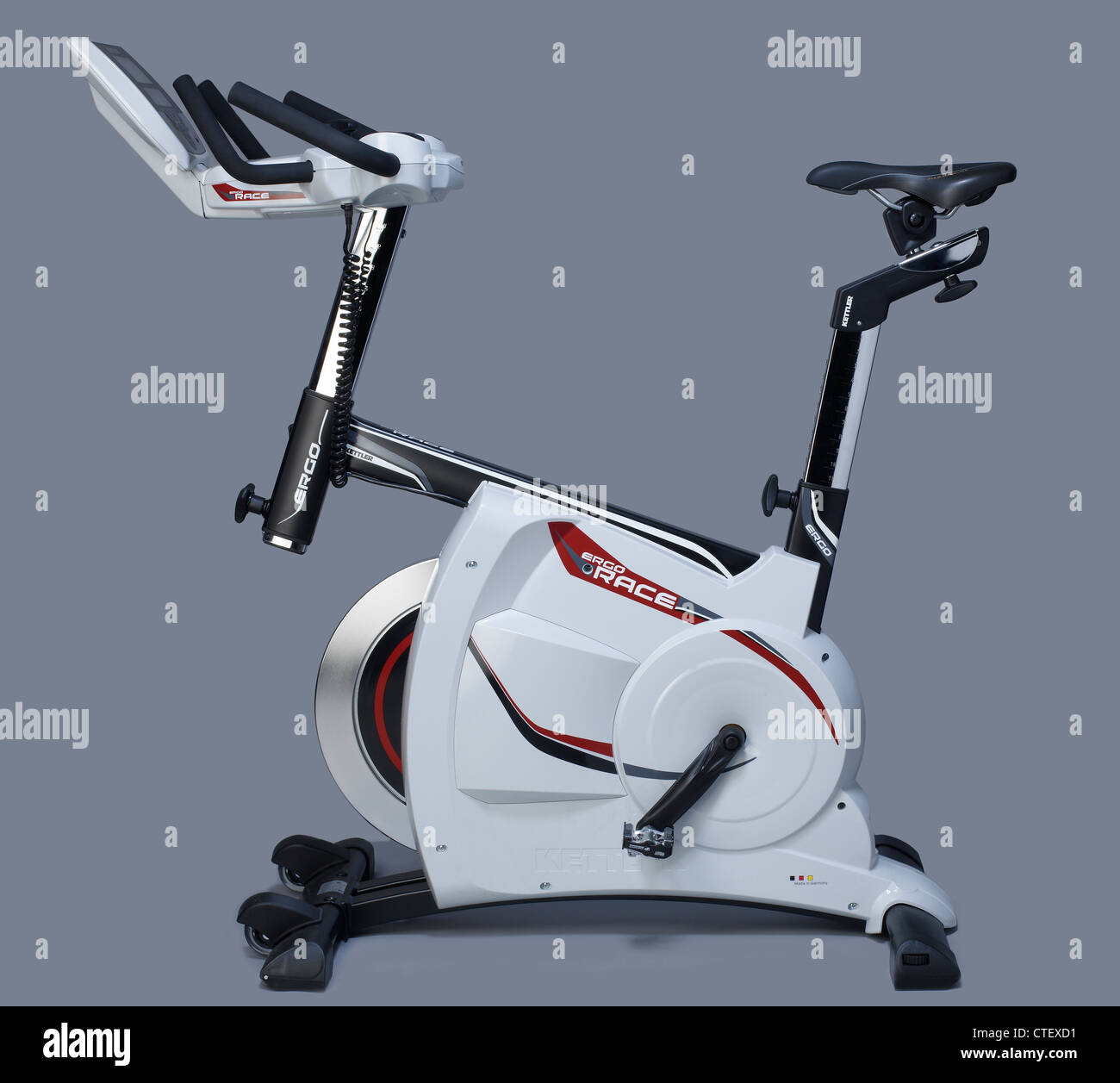 Kettler Fitness Exercise Bicycle Machine Ergo Race By Kettler Stock Photo