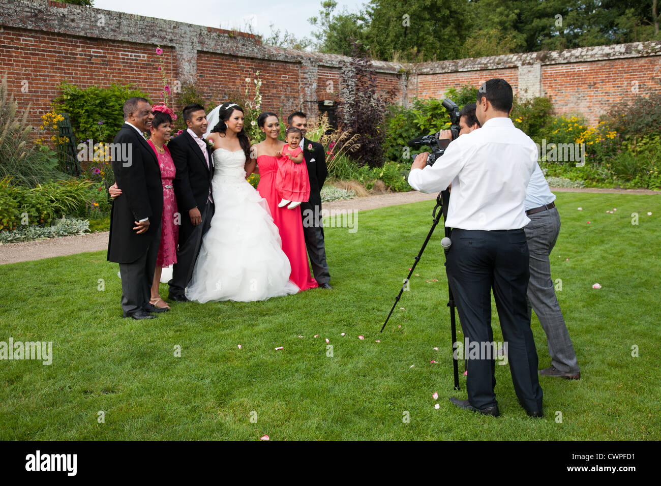 Dressing Point P Wedding Photographer Taking Pictures Of The Bride And