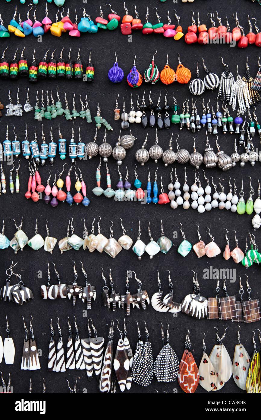 Beaded Earrings Stock Photos & Beaded Earrings Stock
