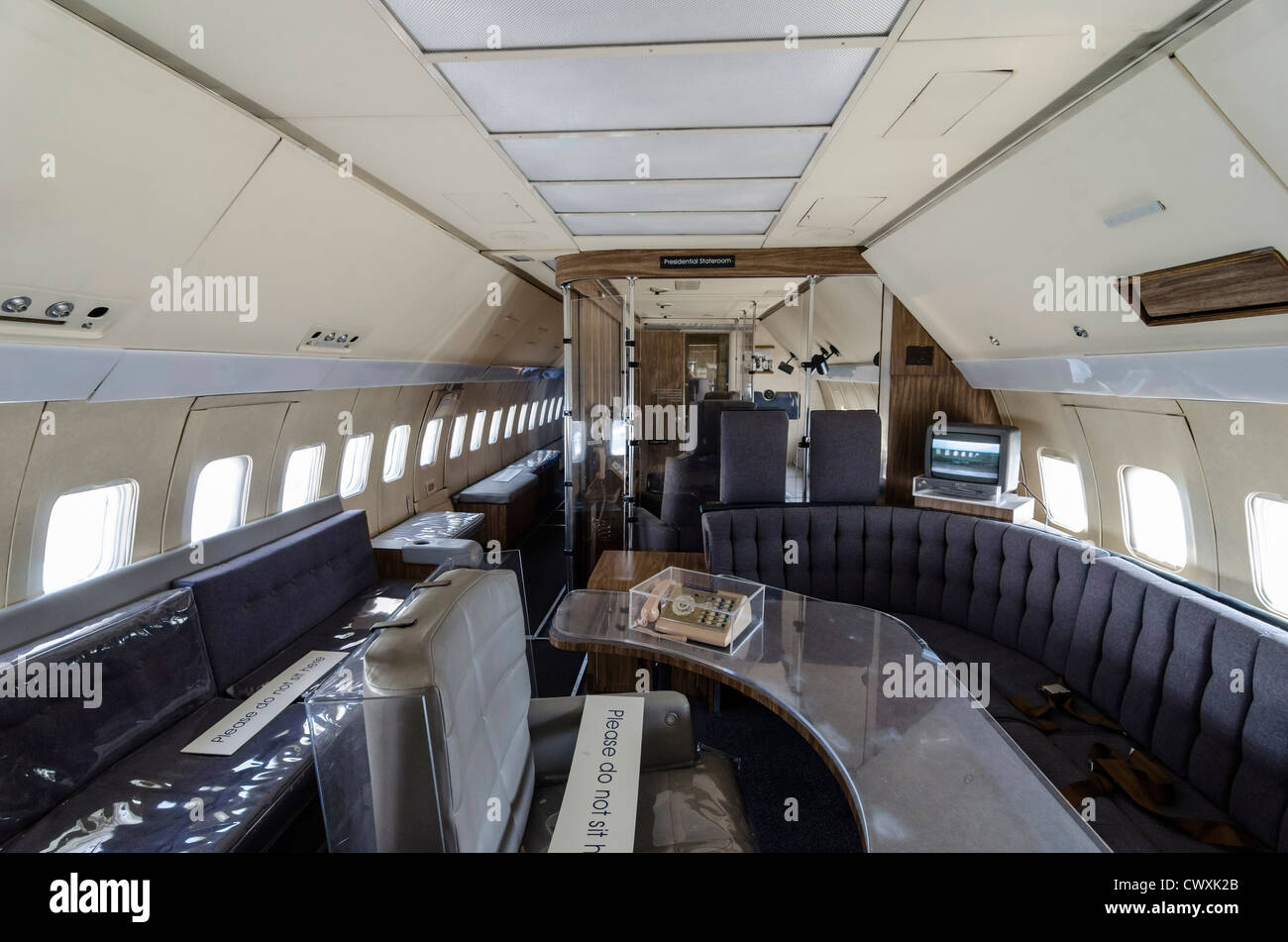 Inside Air Force One At The Museum Of Flight Seattle Usa
