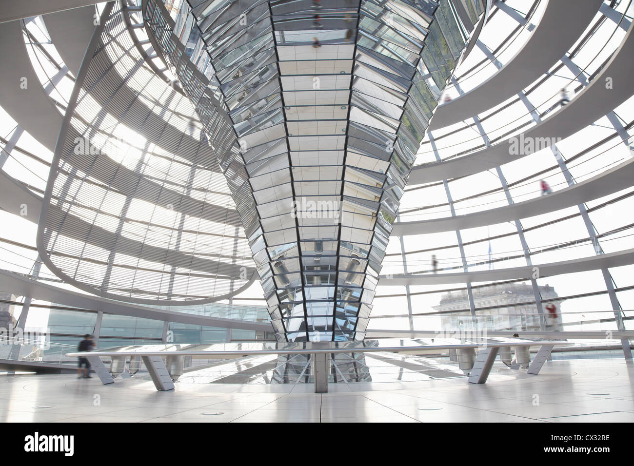 Interior Berlin Reichstag Dome Interior Berlin Stock Photo Royalty Free