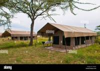 Tanzania Serengeti Africa lodge camp with tents called ...