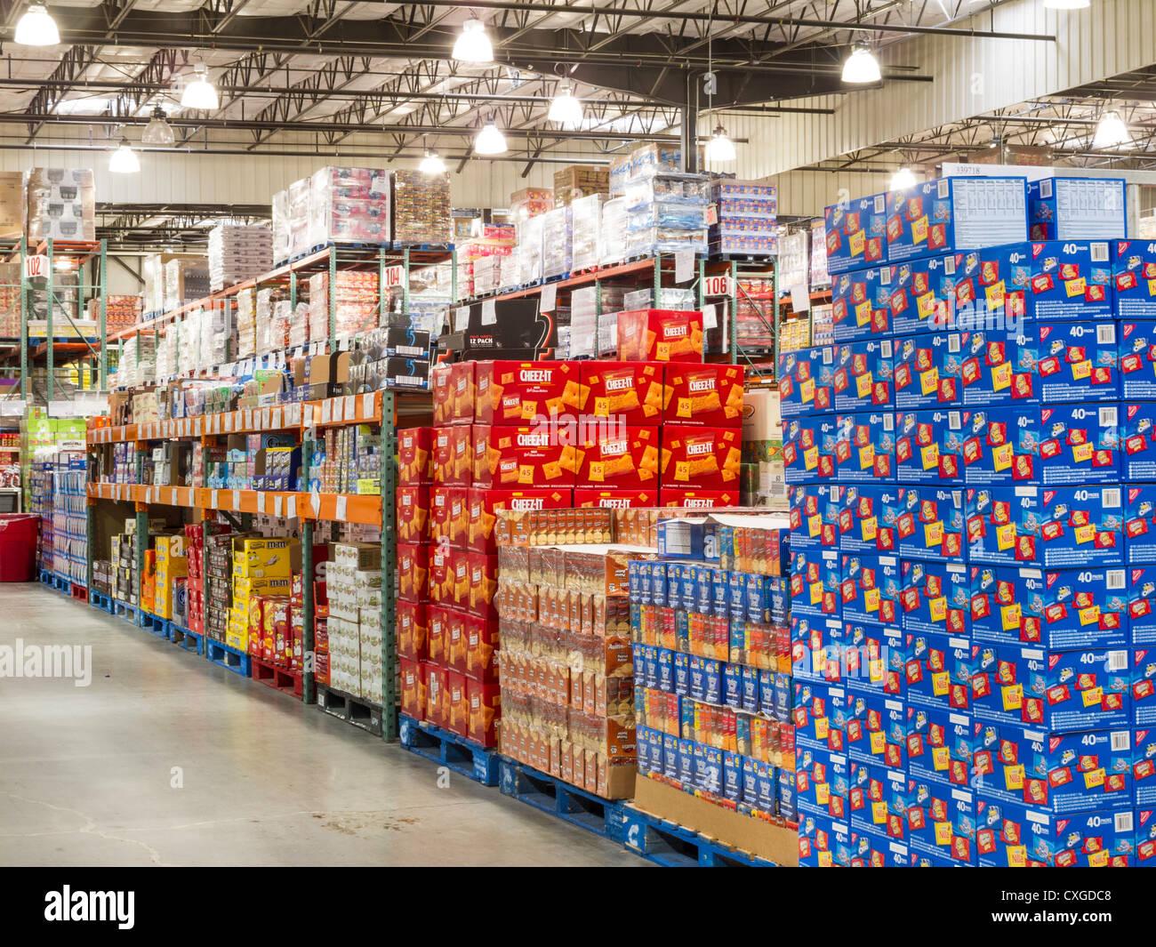 Costco Wholesale Warehouse Store Stock Photo 50763560 Alamy