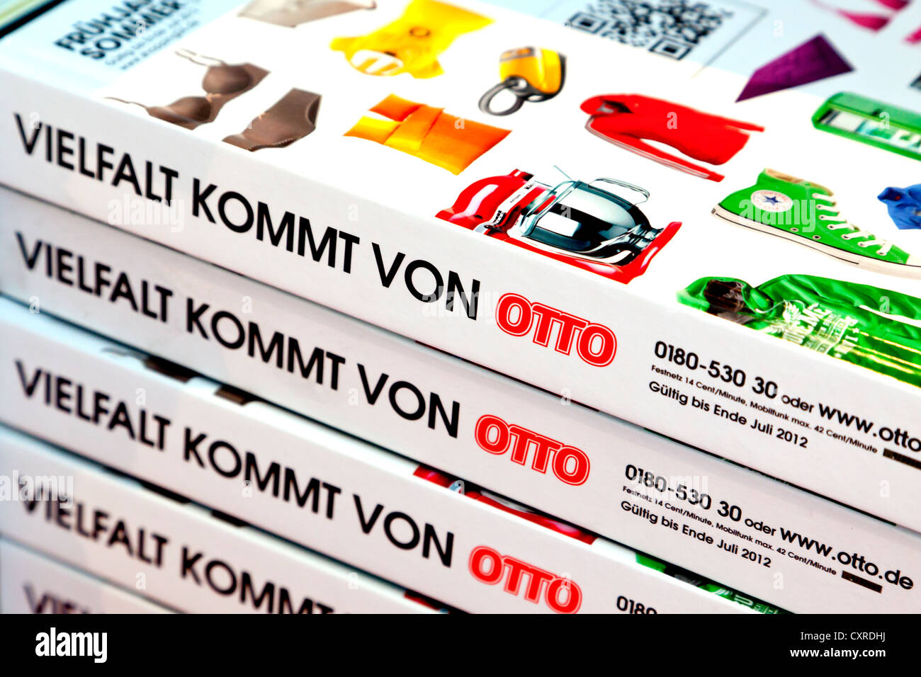 Otto Gardinen Store Mail Order Catalogues Stock Photos Mail Order Catalogues Stock
