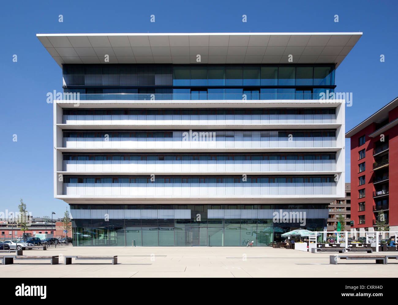 Container Haus Frankfurt Am Westhafen Stock Photos Am Westhafen Stock Images Alamy