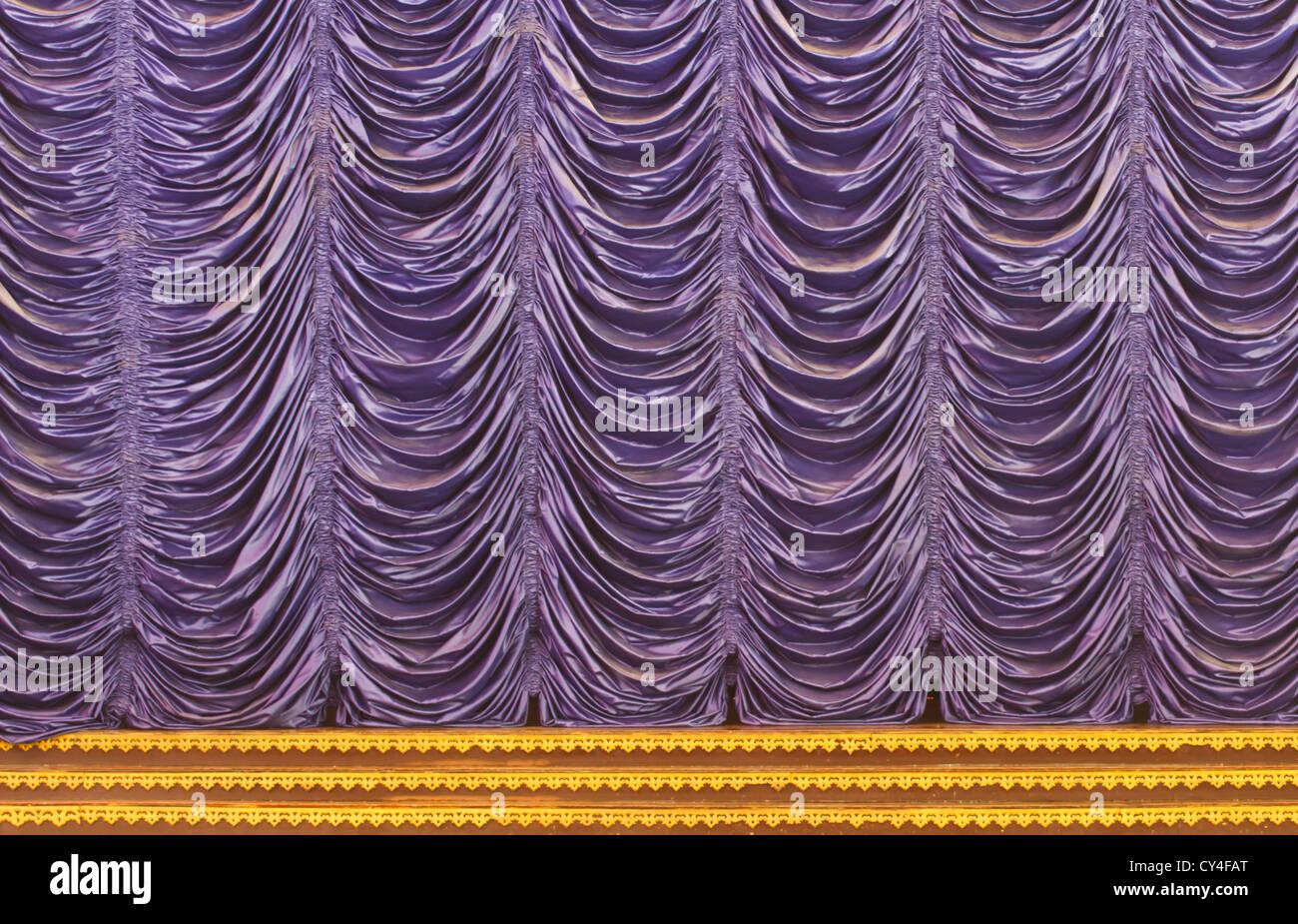 Movie Screen Curtains Stock Photos Movie Screen Curtains