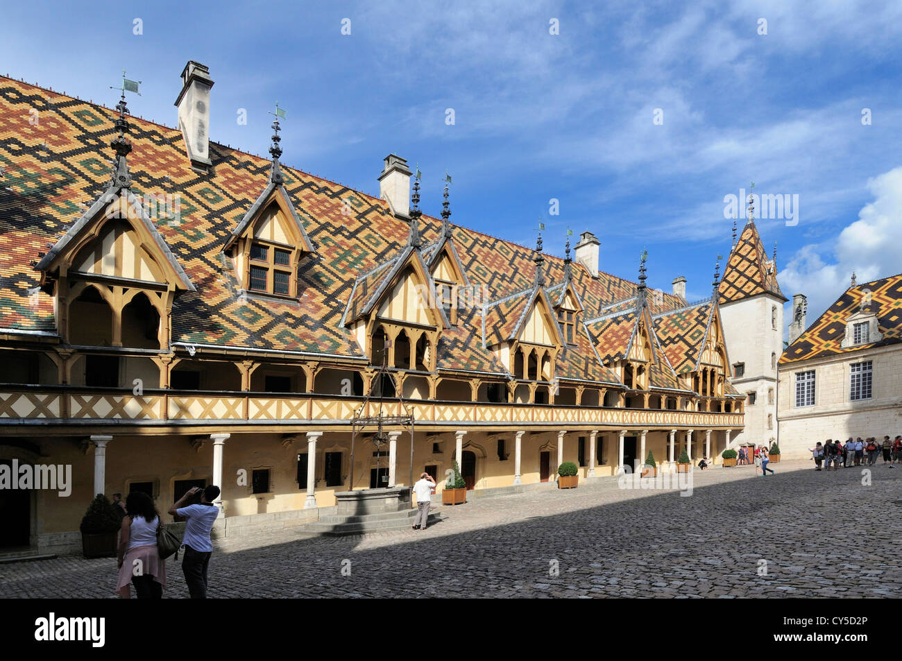 Beaune Hotel Hospices De Beaune Hotel Dieu Beaune Burgundy Cote D Or