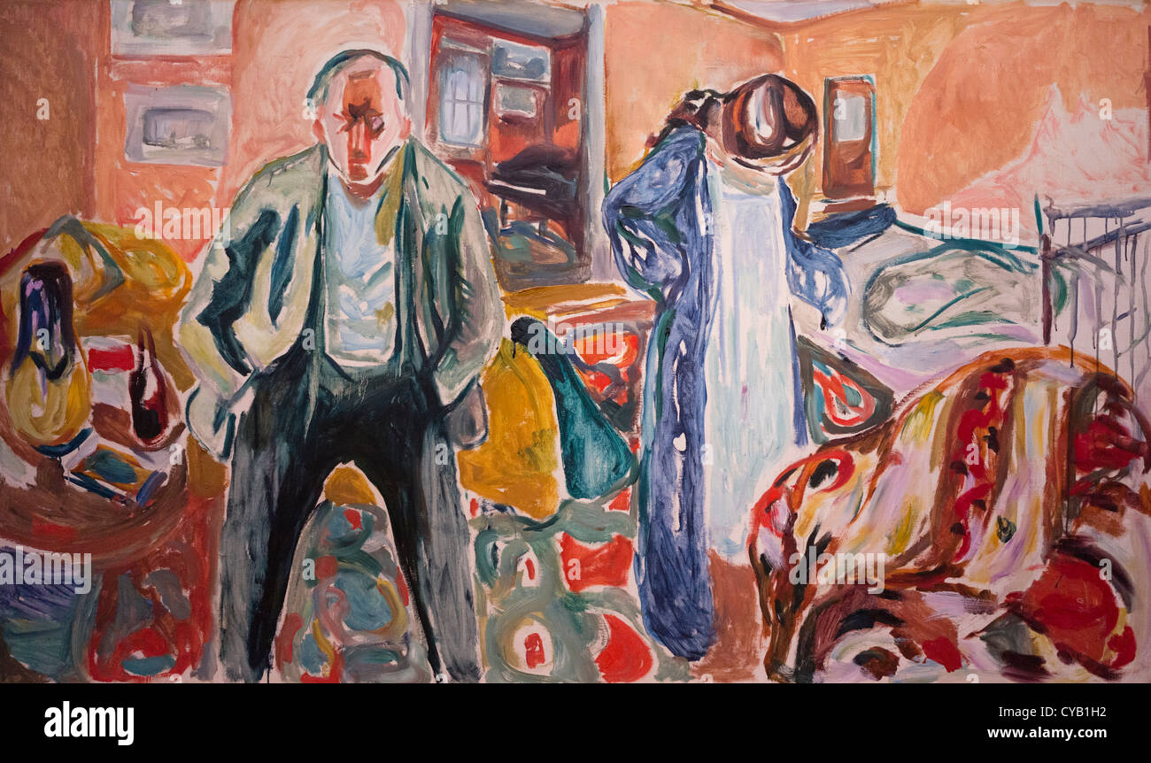 Munch Cuadros Munch Museum Oslo Norway Stock Photo 51259182 Alamy