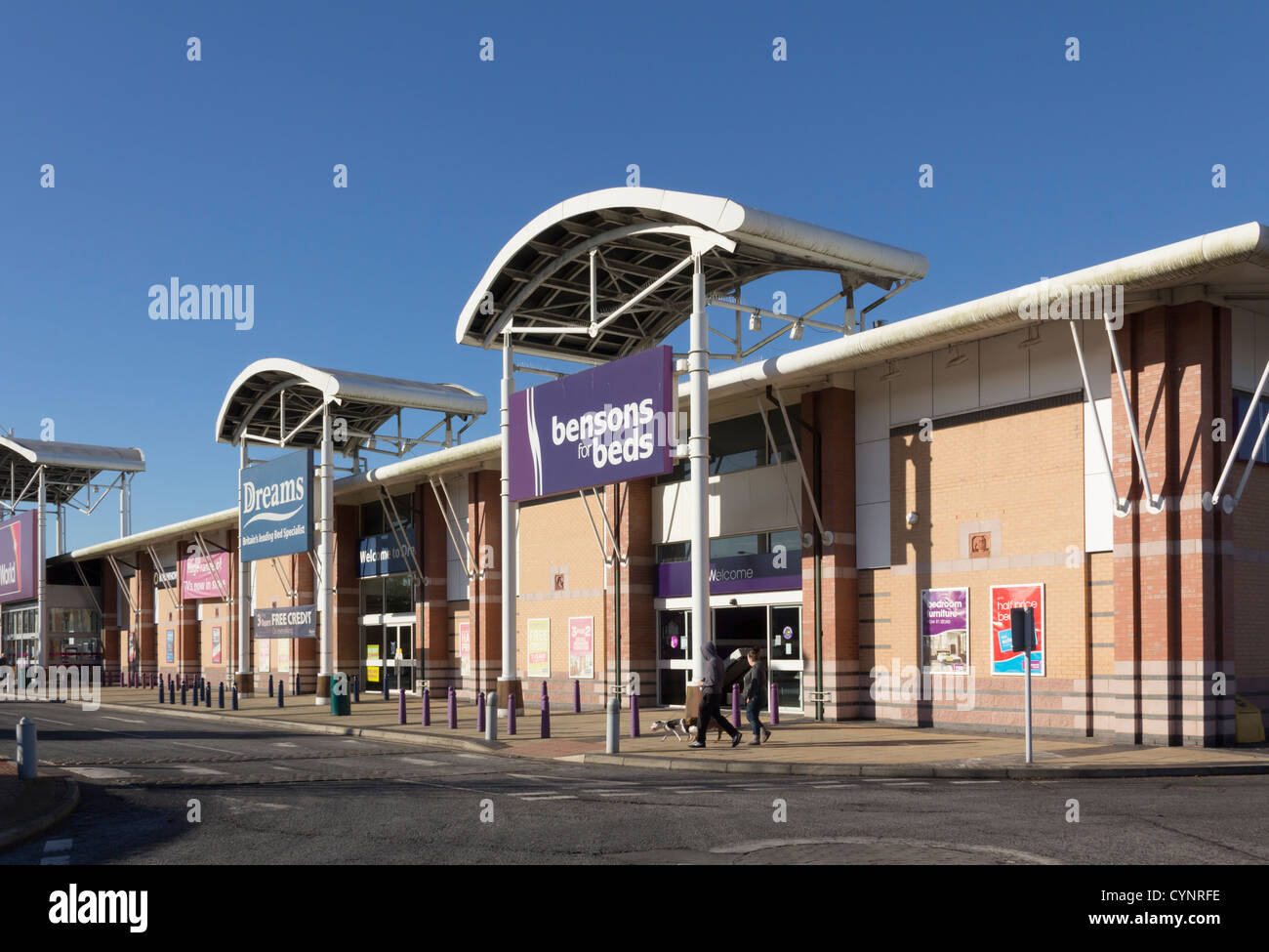 Dreams Beds Northampton Dreams Bed Store Stock Photos Dreams Bed Store Stock Images Alamy