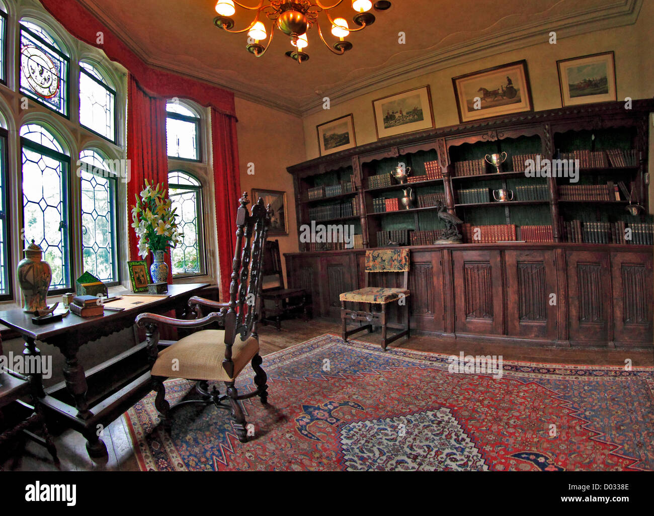 Haus Design Weltner Historic Private Library Stock Photos Historic Private Library