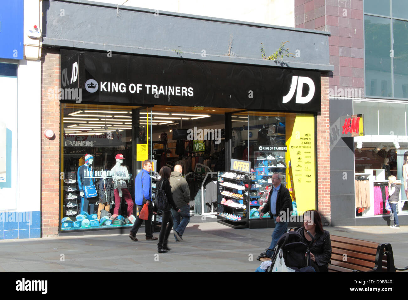 Jd Sports J D Sports Stock Photos J D Sports Stock Images Alamy
