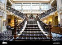"""The Grand staircase in the Highland Railway's """"Station ..."""