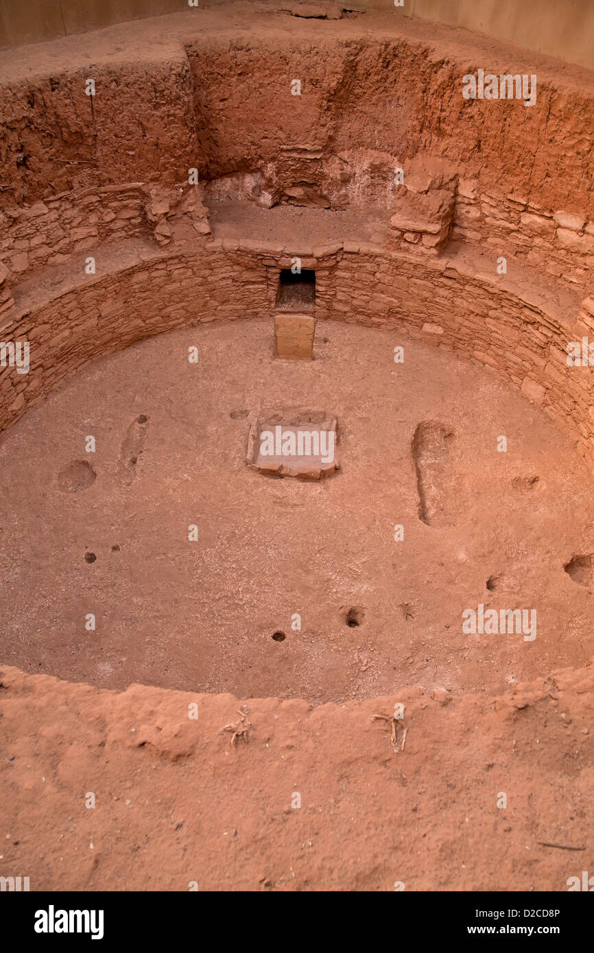 Innenarchitektur Verden Ruins Of A Kiva Room Used For Religious Rituals Of Pre Columbian